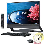 NEC 23.8�^�f�X�N�g�b�v LAVIE Desk All-in-one DA770/EAB PC-DA770EAB �t�@�C���u���b�N 2016�N��f