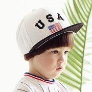 激安☆◆キッズハット◆キャスケット◆ハンチング◆USA◆星条旗◆キャップ◆野球帽子