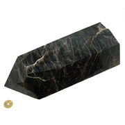 ≪特価品≫天然石 モリオン 黒水晶 ポイント とっても大きいサイズ 135x105x275mm