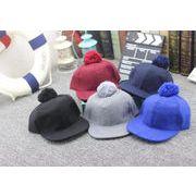 韓国風キッズ帽子★秋冬新しいスタイル★ふわふわファー帽子★