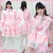 ■送料無料■マリアドレスピンク サイズ:M/BIG 色:ピンク