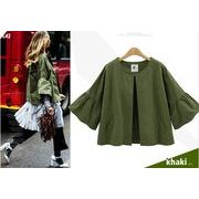 【大きいサイズXL-4XL】ファッション/人気コート♪グリーン/ダークブルー2色展開◆