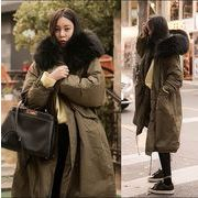 【秋冬新作】人気/ファッションコート♪グリーン/グレー/ブラック3色展開◆