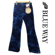 ■BLUE WAY ブルーウェイ メンズ ベルボトムジーンズ フレア デニム 日本製 限定 全7色