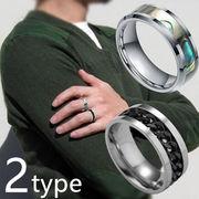 BC136290◆5000以上【送料無料】◆欧米ファッション!決して色あせない!メンズチタン鋼リング