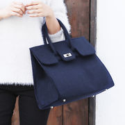 【【SALE】】◆フェルト地・トートバッグ/鞄/ハンドバッグ/カジュアル◆424453