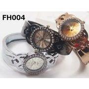 【Fuhua】レディース腕時計 バングルウォッチ 日本製ムーブメント使用