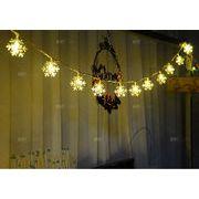 【自社工場】 イルミネーション 電池式 LED ライト クリスマス 防水  雪花 クリスマス装飾品