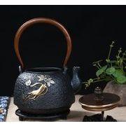 鉄器 急須 伝統工芸 手作り 鉄分補給 鉄瓶 SY-011