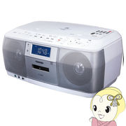 TY-CDK8-W 東芝 CD対応ラジカセ(ホワイト)