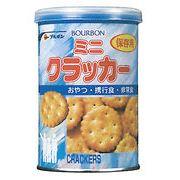 ブルボン 【 缶入ミニクラッカー(75g)X24入り を 10セット 】 BOURBON 保存用