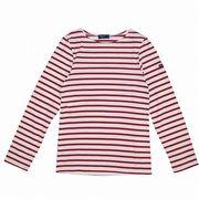【代引不可】SAINT JAMES 9840 ECRU/PERSAN 長袖Tシャツ セントジェームス