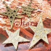 """★新掲載★L&A Original Parts★Gold&金古美★かわいいスターチャーム♪171 """"Stars"""""""