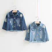 ★新品★韓国風★キッズ女の子服 デニムコート ジャケット