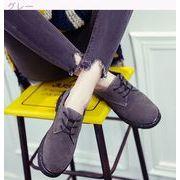 女性の靴★靴★フラット女性★イングランド★アンティーク調★小さな靴★ひもあり★何でも似合