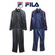 FILA フィラ テープ ジャージ メンズ レディース テニスウェア フィットネス FM3933 FM3934 上下組