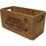 丸和貿易 収納ケース パインウッド ボックス ナチュラル