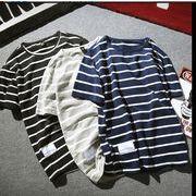 Tシャツ♪ブラック/グレー/ネイビー3色展開◆【春夏新作】