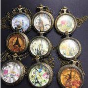 ■ネックレス時計■     アンティーク風シリーズ
