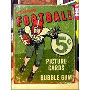 アメリカンブリキ看板 アメリカンフットボール Topps1956
