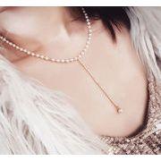 *2017新作* 真珠付きネックレス ファッション