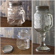 【Glass Jar 】ガラスジャー♪ジョッキ型♪