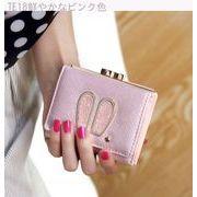 韓国風★若いもの★女性★財布★短いスタイル★財布★漫画★ウサギの耳★女性用