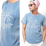 【2017SS新作】 インディゴ サーフ OF カリフォルニア プリントTシャツ