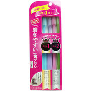 磨きやすい歯ブラシ 人気No.1×No.2 先細4本セット LT-21