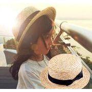 同梱でお買得★春夏★ビーチ用帽子★格好いい★帽子 リボン付き★親子帽子★★かっこいい