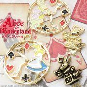 """★L&A Original Parts★K16GP★Gold color★L&Aの人気アリスシリーズ♪161 """"Alice clock"""""""
