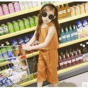 2017夏新品★キッズセット★キッズファッション★キッズ女の子2点セット★ズボン+シャツ