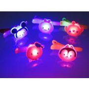 1012359:光るおもちゃ 光るディズニー かわいいダイカットクリップ(ツム柄)