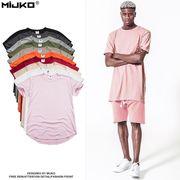 メンズ Tシャツ 半袖 クルーネック トップス コットン カジュアル シンプル 春 夏 かっこいい 全10色