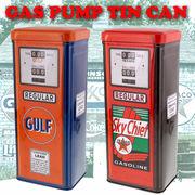 GAS PUMP TIN CAN CASE 【 ガスポンプ ティンカンケース GULF / TEXACO 】