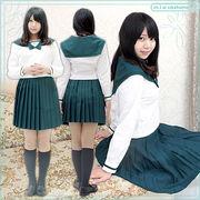 ■送料無料■成田国際高等学校 中間服  サイズ:M/BIG