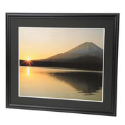 エツミ アルミ写真額4切(ブラック) E-8007