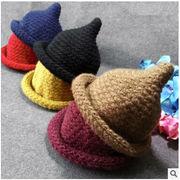 ★同梱でお買得★新作★ニット帽子★子供帽子★可愛い★かっこいい 9色