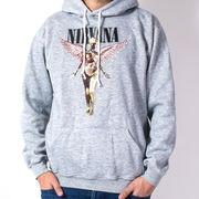 プルオーバー ロックパーカー ニルヴァーナ Nirvana In Utero ホワイトロゴ