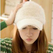 同梱でお買得★秋冬の定番アイテム★レデイー帽子★可愛い★ふわふわしい帽子★可愛い★多色
