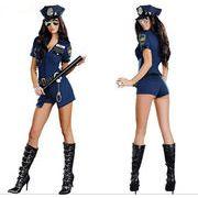 コスプレ ポリス 制服 コスプレ衣装 仮装 セクシー 女性 ハロウィン コスチューム  警察 警官