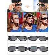 メガネの上からかけれるサングラス《UV400》 HDラップアラウンドサングラス【偏光タイプ】SA-3810