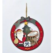 【クリアランスセール!】【クリスマス】【ウッドリース】2種
