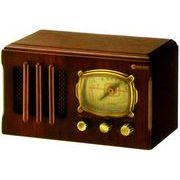 木製クラシックラジオ 「大正ロマン」5850