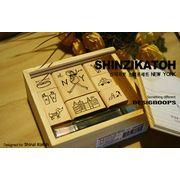 Shinzi Katoh Stamp Set NEW YORK