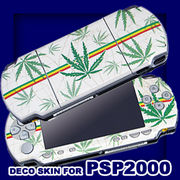 ヘンプ◎PSP2000デコスキンシール (SONY PSP-2000専用)