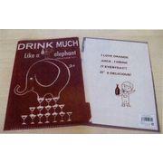Shinzi Katoh Clear folder-A drink much