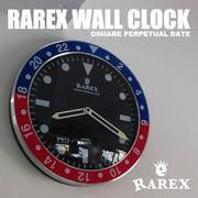 ラリックスウォールクロック【RAREX WALL CLOCK】(全2色)