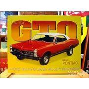 アメリカンブリキ看板 ポンティアック -1967 GTO-