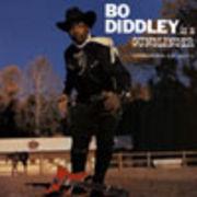 BO DIDDLEY  BO DIDDLEY IS A GUNSLINGER